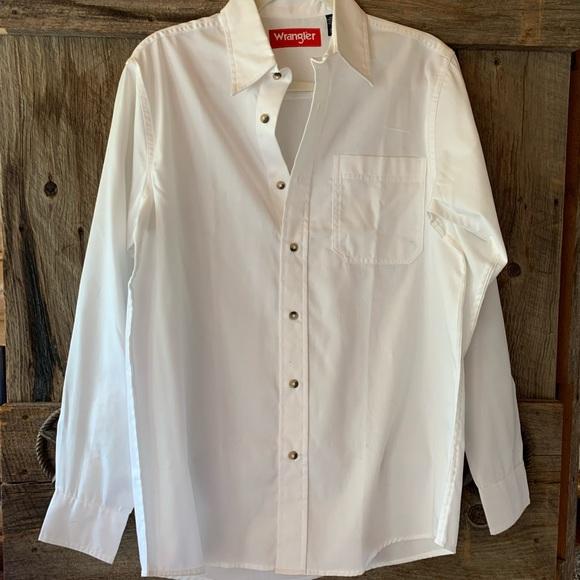 White Wrangler Shirt heavyweight